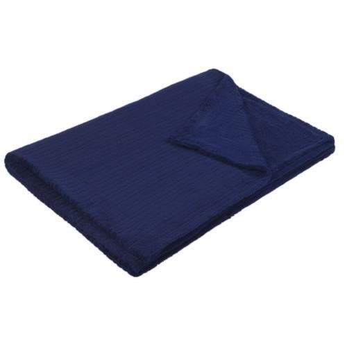 Плед Royal Blue, темно-синий