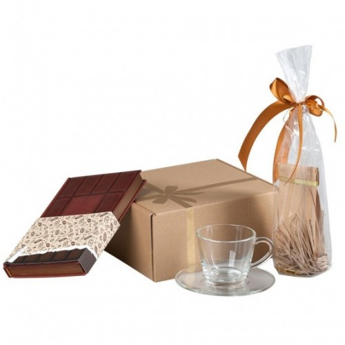 Коробка подарочная «Крафт»,...