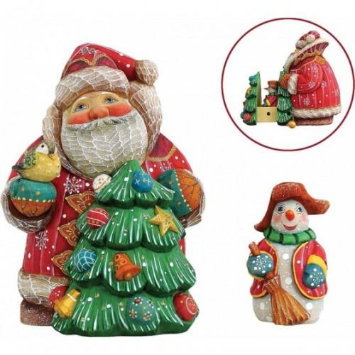 "Шкатулка ""Дед Мороз с..."