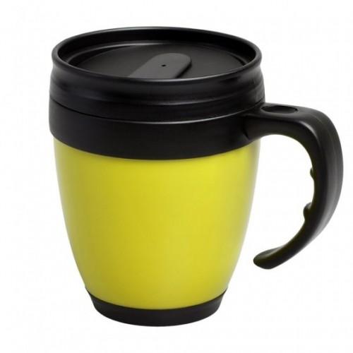 Термокружка Cask, желтая