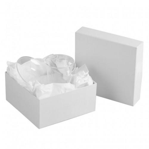 Коробка Satin, малая, белая
